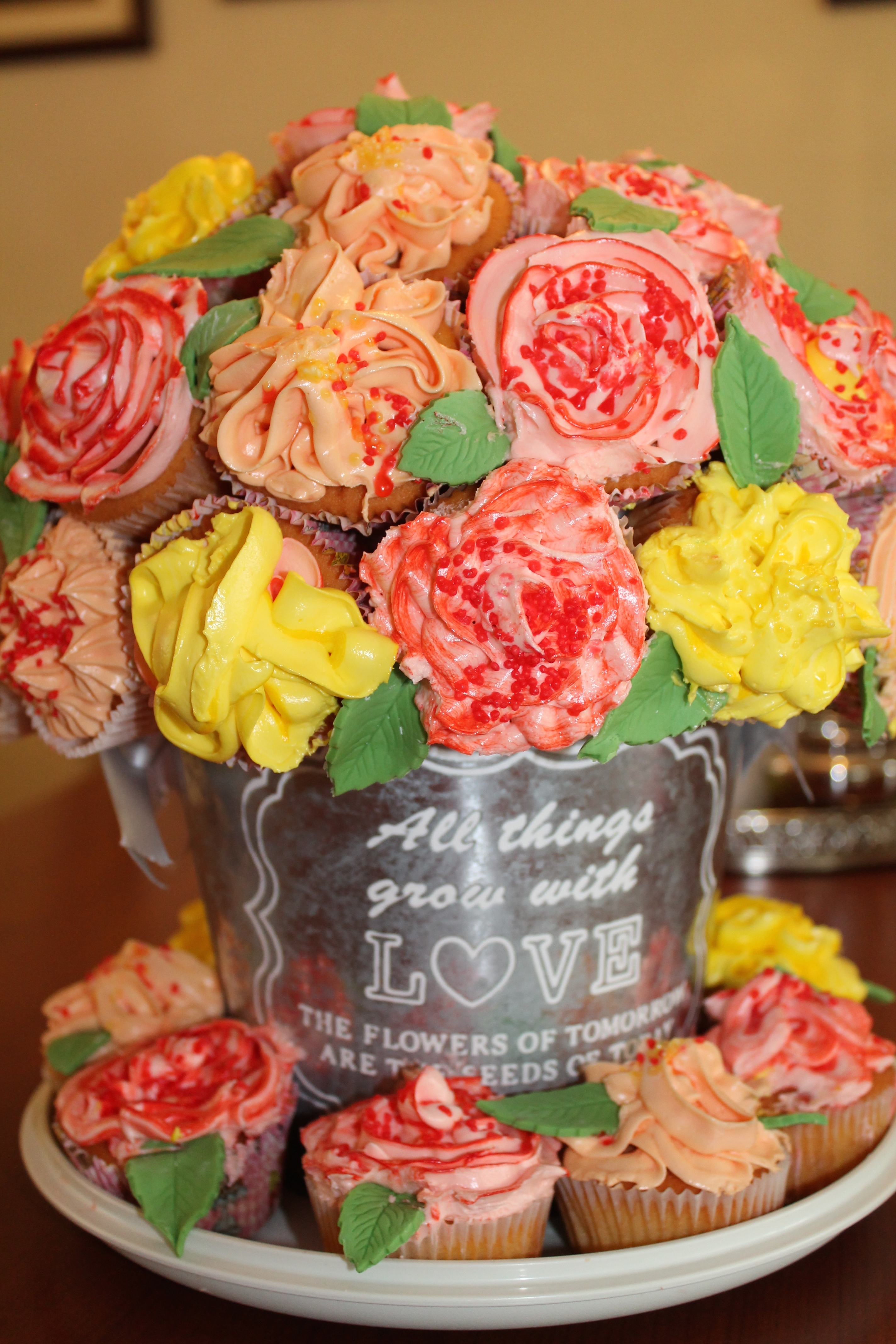 Cupcake Flower Bouquet | Fashion Blessings